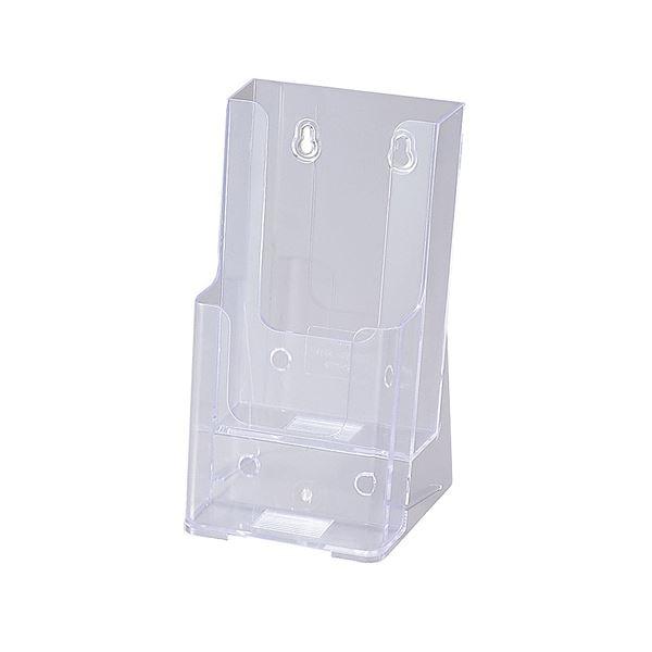 (まとめ) セキセイ カタログスタンド A4 3つ折2段 外寸W111×H210×D108mm CSD-2776 1個 【×10セット】