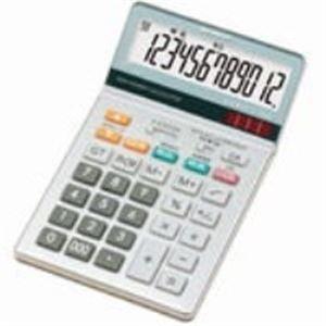 (業務用10セット) シャープ 中型卓上電卓 12桁 EL-N862-X