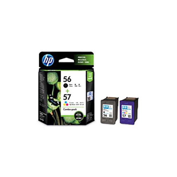 【純正品】 HP インクカートリッジ/トナーカートリッジ 【CC629AA HP56/57 BK ブラック・ カラーパック】