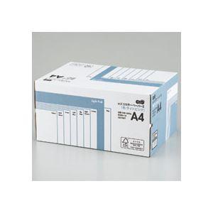 (まとめ) TANOSEE αエコカラーペーパーII A4 ライトピンク 業務用パック 1箱(5000枚:500枚×10冊) 【×10セット】