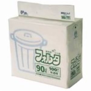 (業務用10セット) 日本サニパック フォルタ・環優包装F-9H 半透明 90L 100枚