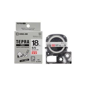 (業務用30セット) キングジム テプラ PROテープ/ラベルライター用テープ 【転写テープ/幅:18mm】 SL18KN
