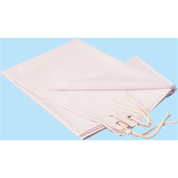 (まとめ)アーテック 学級旗/旗用布生地 【大/薄】 2.3×1.6m ポリエステル・綿製 ホワイト(白) 【×5セット】