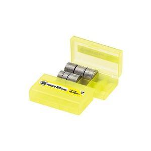 (業務用200セット) オープン工業 コインケース M-100W 100円用 収納100枚