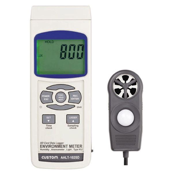 カスタム 多機能環境測定器 AHLT-102SD【代引不可】