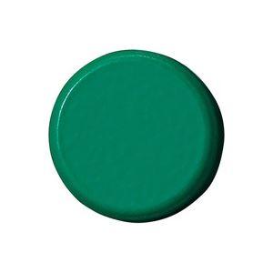 (業務用100セット) ジョインテックス 強力カラーマグネット 塗装18mm 緑 B272J-G 10個