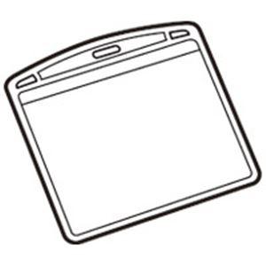 (業務用100セット) ジョインテックス 名札用替ケース パス名刺型横10枚 B073J