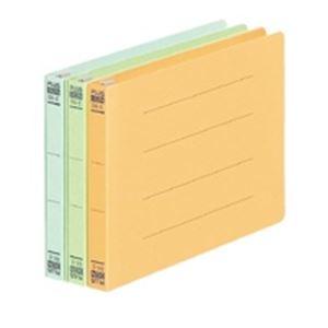 (業務用100セット) プラス フラットファイル/紙バインダー 【B6/2穴 10冊入り】 ヨコ型 052N ブルー(青) ×100セット