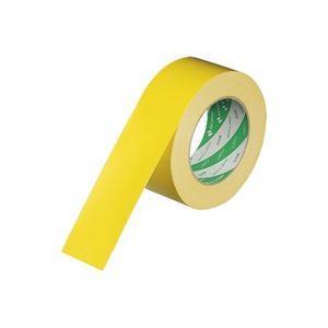 (業務用100セット) ニチバン ハイクラフトテープ 320WC-50 50mm×50m 黄