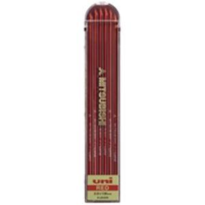 (業務用100セット) 三菱鉛筆 ユニホルダー用替芯 ULN.15 赤 6本