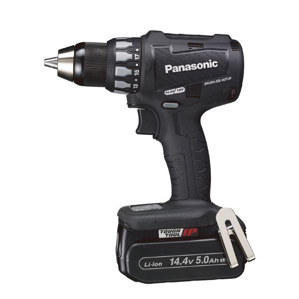 Panasonic(パナソニック) EZ74A2LJ2F-B 14.4V5.0A充電ドリルドライバー(黒)