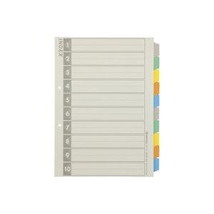 (業務用100セット) ジョインテックス 再生インデックスA4S 5色10山5組 D137J-10Y
