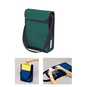 (まとめ)アーテック A4 ショルダースケッチバッグ グリーン(緑) 【×15セット】