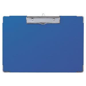 (まとめ) セキセイ カラー用箋挟 A4ヨコ Y-55C-10ブルー 1枚 【×15セット】