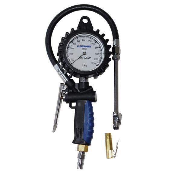 SIGNET(シグネット) 46967 増減圧機能付タイヤゲージ(0-1200KPA)