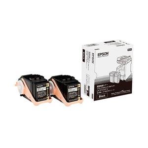 エプソン ページプリンター用 環境推進トナー/ブラック/Mサイズ2本パック(4900ページ×2) LPC3T31KPV