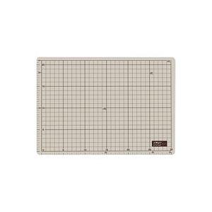 (業務用50セット) オルファ カッターマット 134B A4 グレー/茶