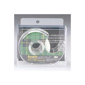 (業務用100セット) スリーエム 3M メンディングテープ 810-1-18D 18mm×30m