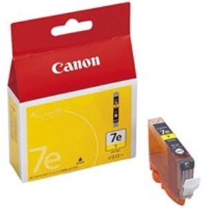 (業務用10セット) Canon キヤノン インクカートリッジ 純正 【BCI-7eY】 3本入り イエロー(黄) ×10セット