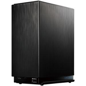 アイ・オー・データ機器 デュアルコアCPU搭載 超高速2ドライブNAS「LAN DISK A」 4TB便利な引っ越し機能付