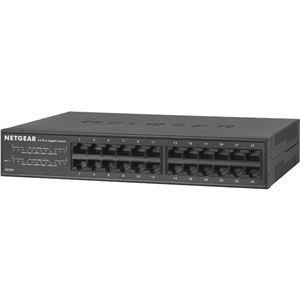 NETGEAR Inc. GS324 ギガビット24ポートLayer2アンマネージ・スイッチ 電源内蔵 ラックマウント