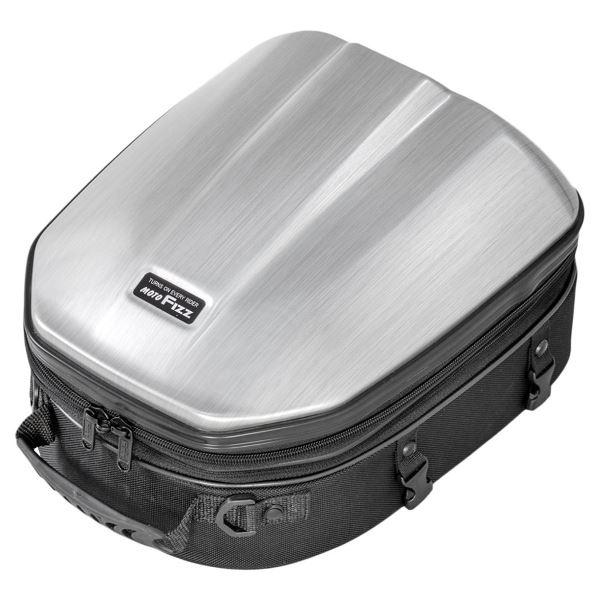 バイクバッグ ケース シートバッグ タナックス メーカー在庫限り品 シェルシートバッグGT ヘアラインシルバー セール特別価格 MFK-241 TANAX