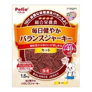 (まとめ)ヤマヒサ 毎日健やかバランスJカット 1.6kg 【犬用・フード】【ペット用品】【×8セット】