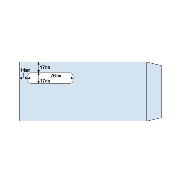 (まとめ) ヒサゴ 窓つき封筒 (給与明細書用/GB1172専用) 215×100mm MF31T 1箱(1000枚) 【×2セット】