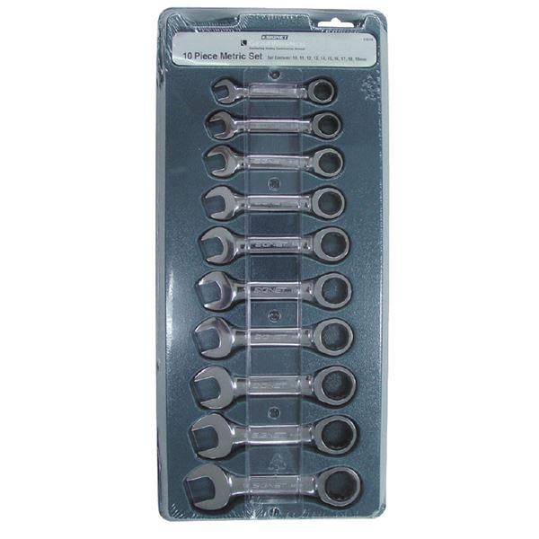 SIGNET(シグネット) 34249 10PC MM スタビーSIGNETレンチセット