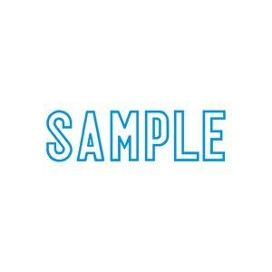 (業務用50セット) シヤチハタ Xスタンパー/ビジネス用スタンプ 【SAMPLE】 藍 XBN-10023