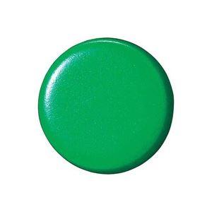 (業務用100セット) ジョインテックス 両面強力カラーマグネット 18mm緑 B270J-G 10個