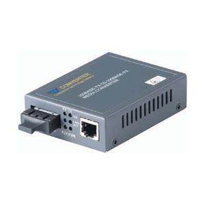 日本テレガートナー 100Mbps メディアコンバータ (マルチモード SC 1310nm 2km) CVT-100BTFC