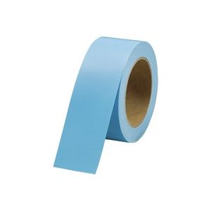 (業務用100セット) ジョインテックス カラー布テープライトブルー 1巻 B340J-LB