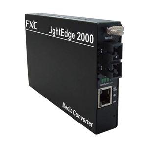 FXC 10/100/1000BASE-T to 1000BASE-SX MMF550m(SC)メディアコンバータ LE2852-005