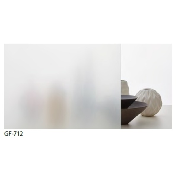 すりガラス調 飛散防止・UVカット ガラスフィルム サンゲツ GF-712 97cm巾 3m巻