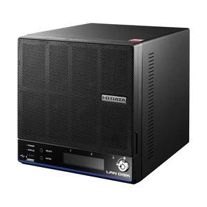 アイ・オー・データ機器 ウイルス対策機能搭載「拡張ボリューム」採用2ドライブビジネスNAS 4TB ライセンス3年 HDL2-H4/TM3