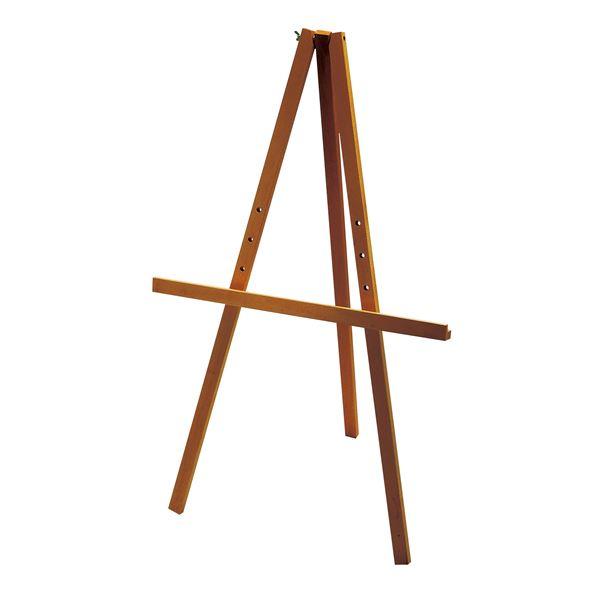 (まとめ)アーテック 簡易イーゼル/画架 【1000/B2】 木製 受け台4段階調節可 コンパクト 簡単組立 【×5セット】