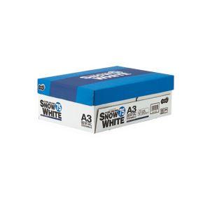 (まとめ) TANOSEE PPC用紙 SNOW WHITE 75 A3 1箱(1500枚:500枚×3冊) 【×10セット】