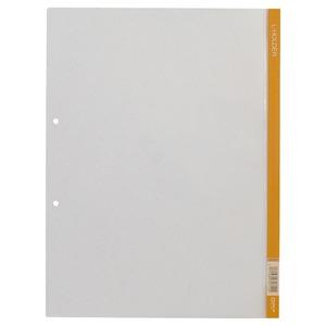 (業務用500セット) キングジム クリアホルダー Lホルダー730 A4S 橙