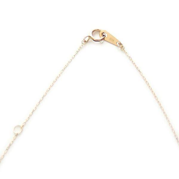 ナンバー ネックレス ダイヤモンド ネックレス 一粒 0 01ct K18 ゴールド 数字 4 ダイヤネックレス ペンダントY6fygbv7