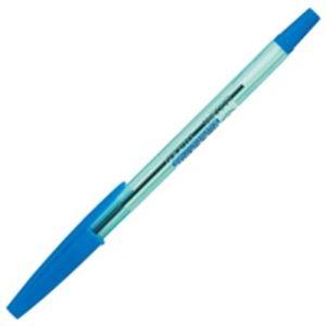 (業務用400セット) ZEBRA ゼブラ 油性ボールペン/ニュークリスタルケアS 【0.7mm/青】 キャップ式 BNR1-BL