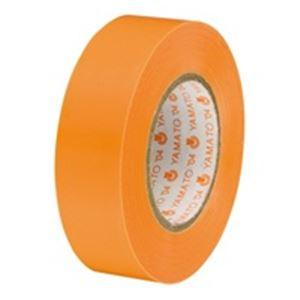 (業務用50セット) ヤマト ビニールテープ/粘着テープ 【19mm×10m/橙】 10巻入り NO200-19 ×50セット