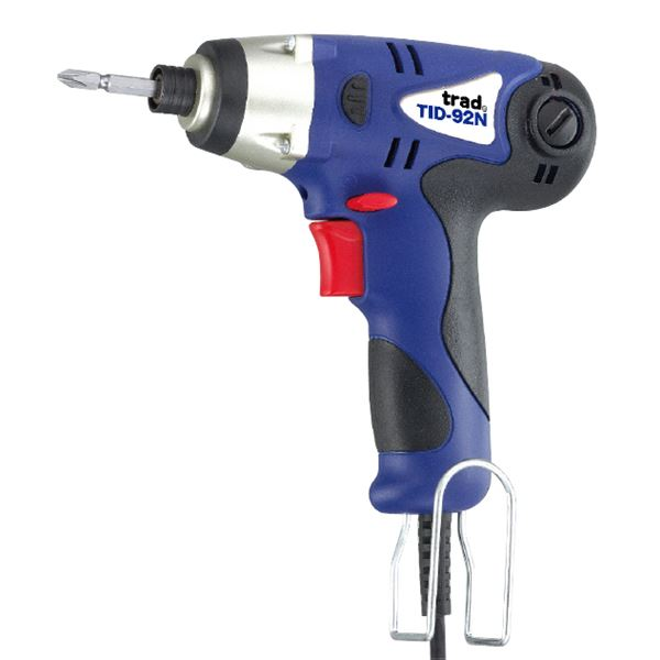 (業務用5個セット) TRAD インパクトドライバー(電動ドライバー) AC100V LEDライト付き TID92N 〔DIY用品/大工道具〕