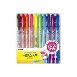 (業務用50セット) ZEBRA ゼブラ 蛍光マーカー/蛍光オプテックス2 【10色セット】 詰め替えタイプ EZ WKT11-10C