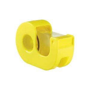 (業務用200セット) ニチバン ハンドカッター付セロテープCT-15DRY黄