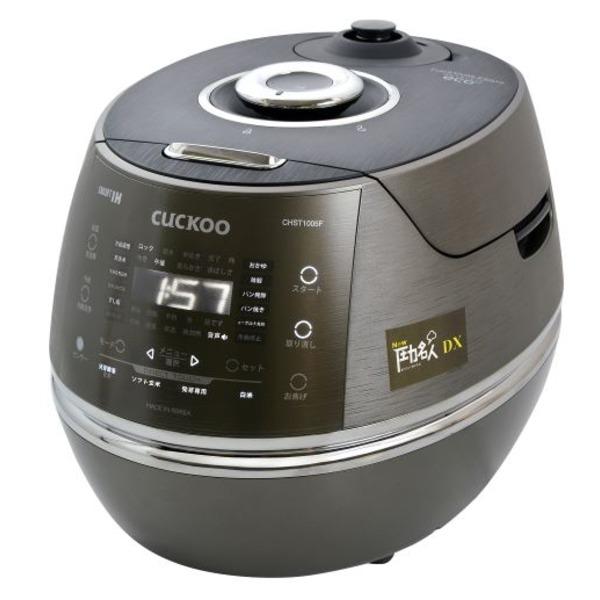 CUCKOO New圧力名人DX 超高圧発芽酵素玄米炊飯器 玄米を簡単に美味しく炊飯!