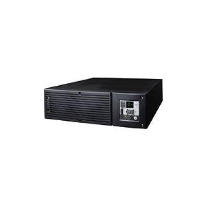 オムロン 無停電電源装置(常時インバータ給電) 3000VA/2400W:ラックマウント対応(縦置可) BU300RW