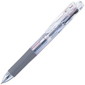 (業務用100セット) ZEBRA ゼブラ 多色ボールペン サラサ3 【0.5mm】 ゲルインク J3J2-C 軸色透明