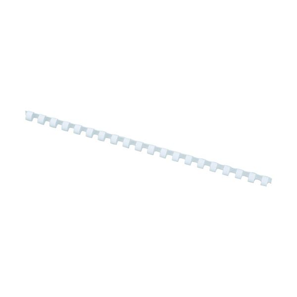 アコ・ブランズプラスチックリング・ワイドバック A4長辺20穴用 直径16mm 白 PR1620A4Z-WH 1箱(100本)