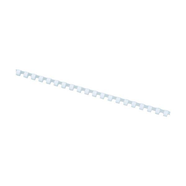 アコ・ブランズプラスチックリング・ワイドバック A4長辺20穴用 直径28mm 白 PR2820A4Z-WH 1箱(50本)